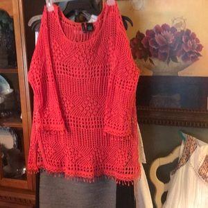 New Design Beautiful  Lace Shirt